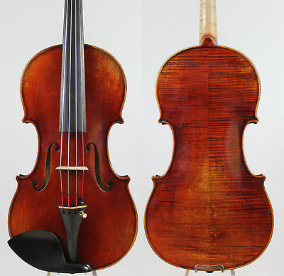 "Best performance!Guarnieri ""Cannon"" 4/4 Violin Copy M2917 Aubert Bridge"