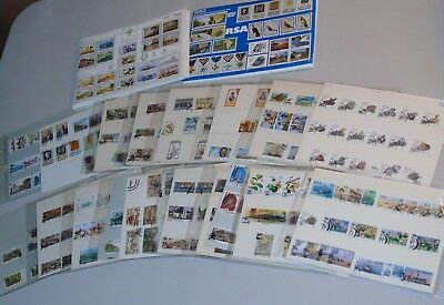 Stamp Pickers South Africa RSA Modern Sheets & Sets Collection Estate Lot $210+