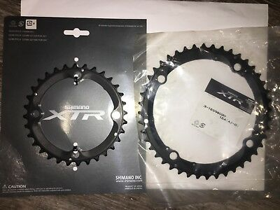 NEW Shimano XTR m960 SG-X 44T & 32T Chainring (9 speed)