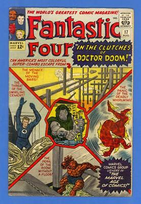 Fantastic Four #17 – Marvel (1963) – In The Clutches Of Doctor Doom!