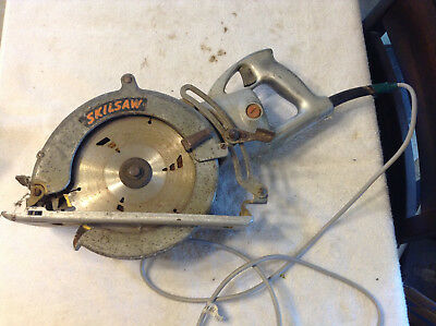 Vintage Wormdrive Skilsaw Model 825 Tested Working Recorded
