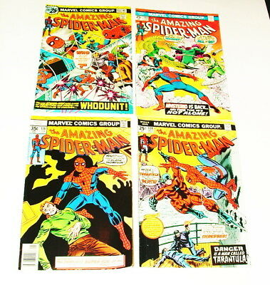 % 1970's The Amazing Spider-Man  Comic Book Collection Lot H-18