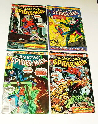 % 1970's The Amazing Spider-Man  Comic Book Collection Lot H-19
