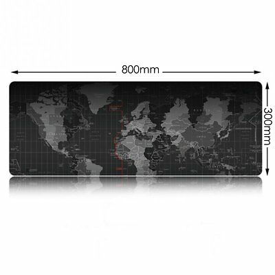 Large Size 800*300*3MM World Map Speed Game Mouse Pad Mat Laptop Gaming Mousepad