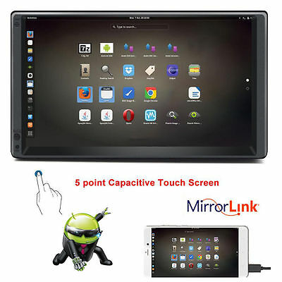 "Android 5.1 Quad-Core 7"" 2Din Indash Autoradio Car Stereo HD GPS Navi 3G WiFi BT"