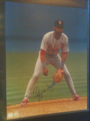 Ozzie Smith Autographed 8X10 Photo Cardinals Hof Will Pass Psa Dna