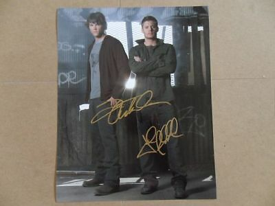 """Jared Padalecki, Jensen Ackles Signed -Autographed Photo """"Winchester"""""""