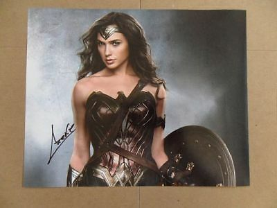 """Gal Gadot Signed -Autographed Photo """"Justice"""""""