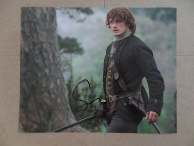 """Sam Heughan Signed -Autographed Photo """"Dragonfly"""""""