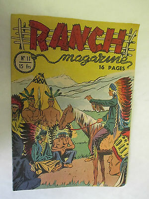 Ranch Magazine Numéro 11 du 12 Septembre 1950 /Editions Sage