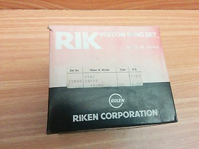 Piston Rings Set for Hino 5.9 EH 105mm Bore + 0.25 Oversize - Truck Tractor Bus