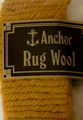 Precut Anchor Rug wool - 160 pieces - 100% wool - no. 44 Chinese Gold