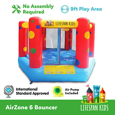 Inflatable Trampoline Bounce Trampoline Jump ToyAirZone 6 lifespan kids