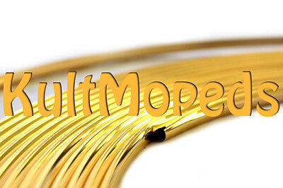 3M Moulding Welt Gold Pas for SIMSON KR51 Schwalbe Mudguard S51 Panzer Sheet