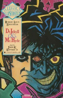 Classics Illustrated GN #8 NM 1990 First Dr. Jekyll and Mr. Hyde Comic Book
