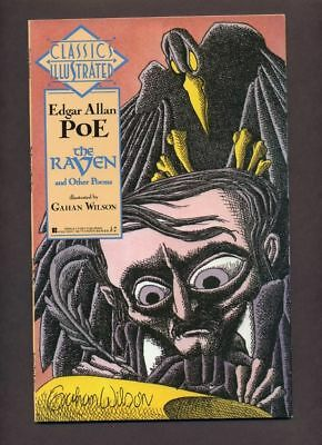Classics Illustrated GN #1 NM 1990 First The Raven and Other Stories Comic Book