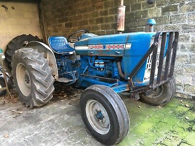 1968 Ford 3000 Tractor With Power Steering Kit No VAT Dry Stored Great Runner