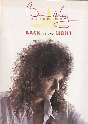 Brian May (Queen) - Back To The Light - Scarce 1993 music transcription book