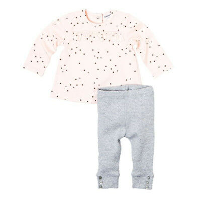 Baby Toddler Girls Star Top & Grey Legging Outfit (3-24 Months)