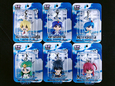 Magi The Labyrinth of Magic Mascot Charm Complete set Figure Megahouse New