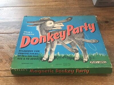 Donkey Party Spear's magnetic 1968