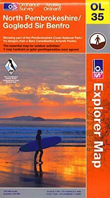 North Pembrokeshire (OS Explorer Map) by Ordnance Survey Sheet map, folded Book