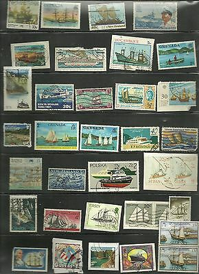 Thematics- Boats on stamps