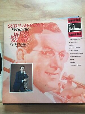 """Syd Lawrence """"With The Glenn Miller Sound"""" Orchestra 1969 Vinyl/Record/LP"""