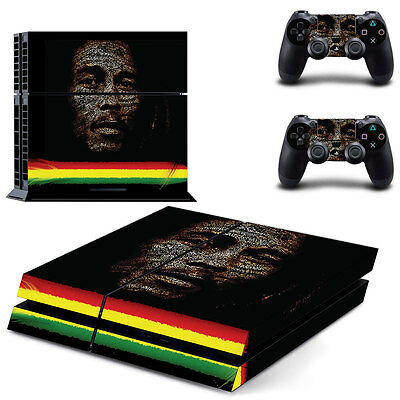 Bob Marley Skin for Playstation 4
