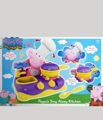 Peppa Pig Sing Along Kitchen  - Brand New & Boxed