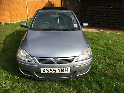2006 Vauxhall Corsa Design*2 Family Owners*Sun Roof*Air Con*Timing Chain Done.