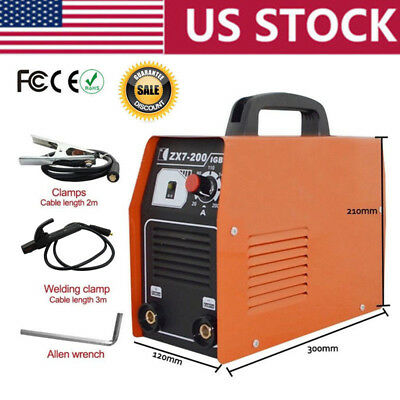 20-200AMP 220V IGBT Inverter Welding Machine MMA ARC Welder Soldering Tools Set