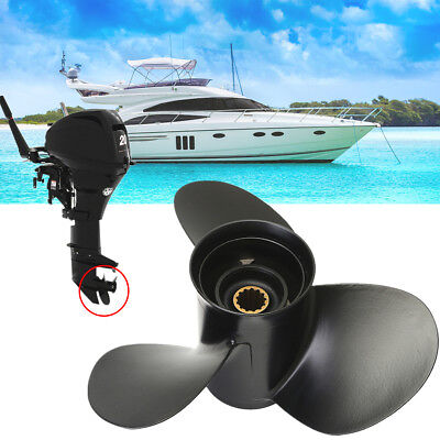 10-3/8 x 13 Aluminum Marine Propeller Pro For Mercury Outboard Engine 25-70HP