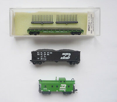 N Scale Rolling Stock - Burlington Northern