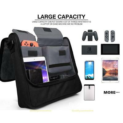Travel Messenger Storage Bag for Nintendo Switch Console and Accessories