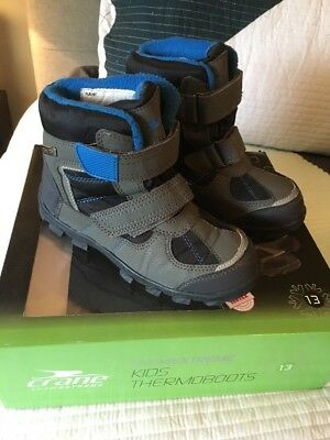 Kids Snow Boots Size 13