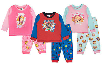 Baby Girls Boys Pyjamas Kids Toddlers Paw Patrol Skye Everest Chase Pjs Gift