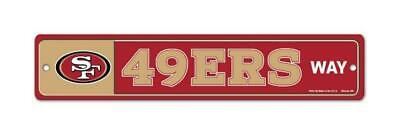 San Francisco 49 ers License Weg Way Schild 48 cm !,NFL Football,Neu