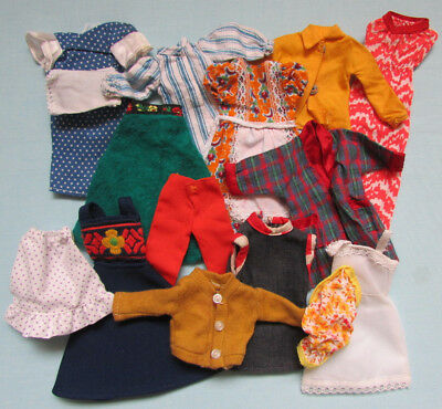 Fab Rare Vintage Mixed Lot Of Dolls Clothes For Daisy Doll Skipper Anna Moore