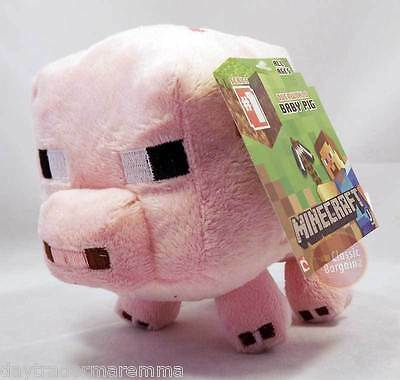 **10 DAY Special**MINECRAFT - 7' Plush toy, Baby Pig #Item 16525P