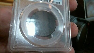 """1807/6"", Draped Bust Large Cent,graded,""pcgs-Fr02"",clear,""overdate"",large ,""7""."