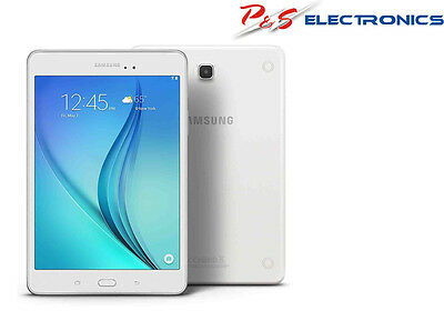"SAMSUNG GALAXY TAB A 8""  16GB WI-FI WHITE Model No. SM-T350NZWAXSA"