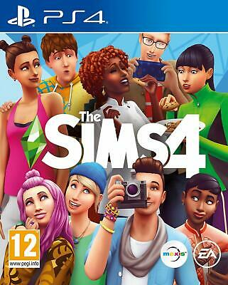 The Sims 4 PS4 Game by Electronic Arts New Factory Sealed UK Pal