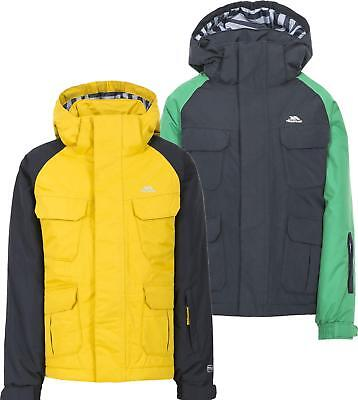 0d266c74a9 TRESPASS DEBUNK BOYS Waterproof Insulated Ski Jacket - EUR 51