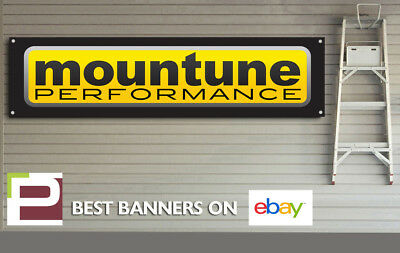 Mountune Performance Banner for Workshop, Garage, Office, Ford RS, ST, Focus etc