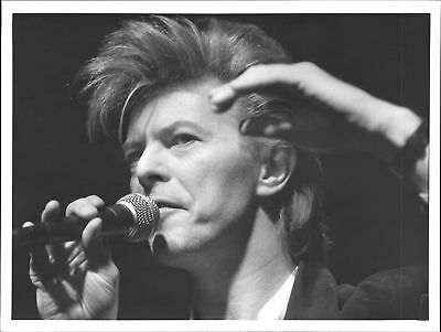 Vintage photo of David Bowie occurs