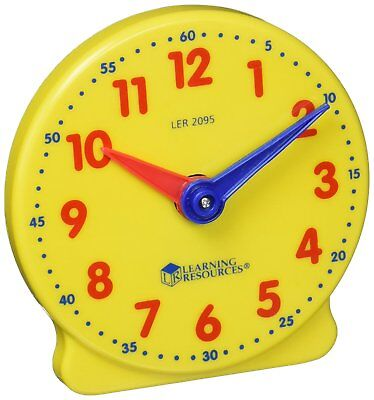 Learning Resources Big Time Student Kids Clock 12 Hour Learn Time for ages 5+