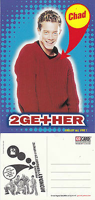 Chad 2 Ge+Her Mtv Tv Channel Unused Advertising Colour Postcard