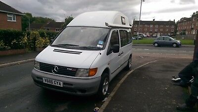 L@@K! Fabulous Hi-Roof MK1 Mercedes Vito Campervan Fully Equipped - Awnings Etc