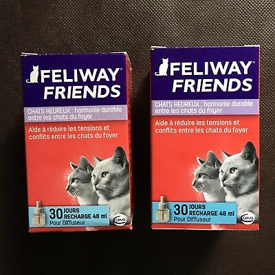 Lot De 2 Recharges Feliway Friends Pour Chat